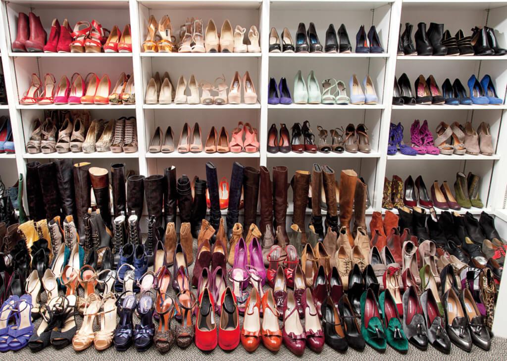 lucky shoe closet